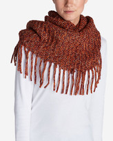 Eddie Bauer Women's Pine Sweater Fringe Loop Scarf