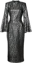 Rebecca Vallance fitted midi dress