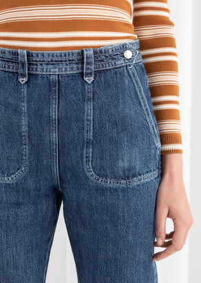 And other stories High Waisted Tapered Jeans
