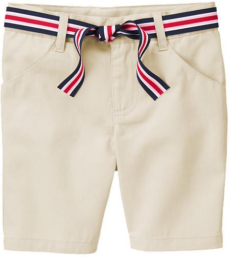 Gymboree Uniform Belted Bermuda Short