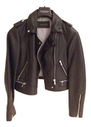 Oakwood Black Leather Leather jackets