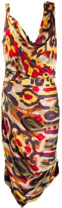 Vivienne Westwood Pre-Owned Draped Printed Dress