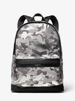 Michael Kors Kent Camouflage Nylon Backpack