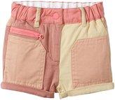 Stella McCartney Joe Colorblock Shorts (Baby) - Pink-24 Months