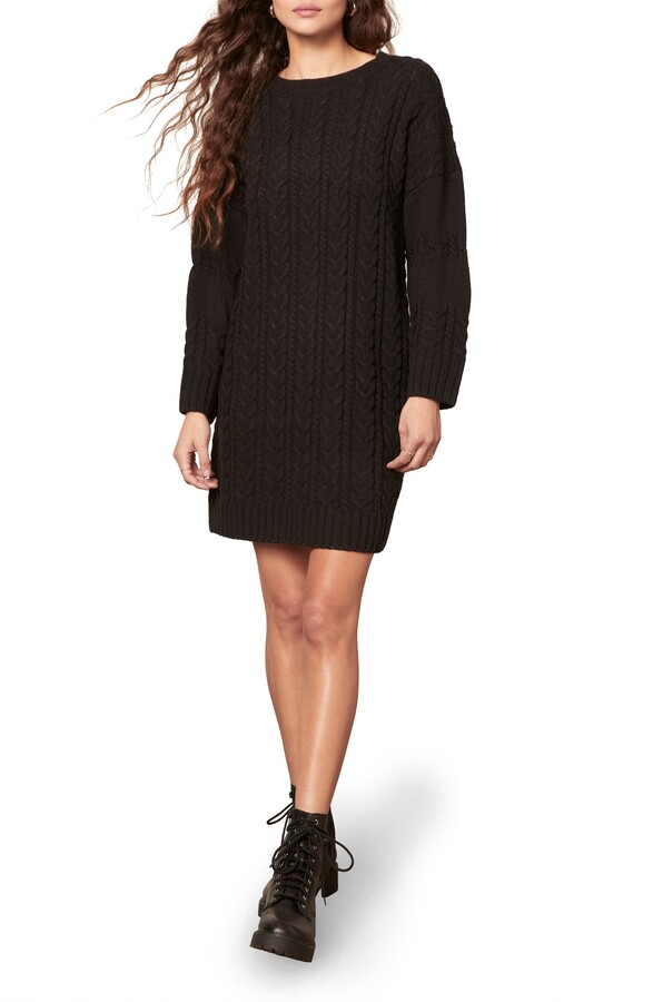 BB Dakota Miss Mood Long Sleeve Sweater Dress