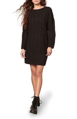 BB Dakota Miss Mood Long Sleeve Sweater Dress