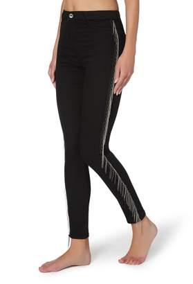 Calzedonia Fringed Push-Up Jeans