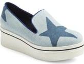 Stella McCartney 'Binx Star' Slip-On Platform Sneaker (Women)