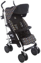Fendi Black Monster Logo Stroller