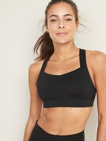 Old Navy High Support Cross-Back Sports Bra for Women