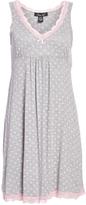 Rene Rofe Gray Diamond Sweet Sleep Nightgown - Plus Too