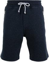 Brunello Cucinelli drawstring track shorts - men - Cotton/Polyamide - S