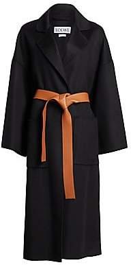 Loewe Women's Oversize Belted Coat