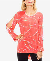 Vince Camuto Split-Sleeve High-Low Tunic