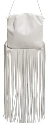 Bottega Veneta Fringe Leather Pouch