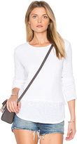 Generation Love Sinclair Fringe Sweater in White. - size S (also in XS)