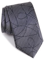 Ermenegildo Zegna Men's Graphic Silk Tie