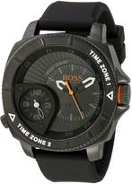 BOSS ORANGE Men's 1513213 Sao Paulo Stainless Steel Watch with Silicone Band