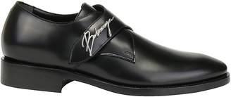 Balenciaga Signature Logo Monkstrap Shoes