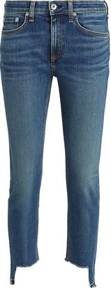 Rag & Bone Cate Skinny Step Hem Jeans