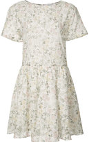 Anine Bing flared floral dress - women - Cotton/Viscose - XS