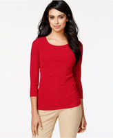 Alfani Tiered Mesh Top, Only at Macy's