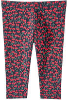 Joe Fresh Kid Girls' Print Active Crop Pant, Print 1 (Size S)