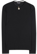 Tom Ford Jersey top with removable lock chocker