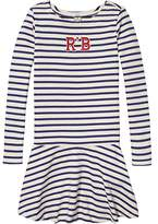Scotch & Soda R'Belle Girl's Gestreift Appliqué Jersey Kleid Dress