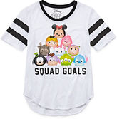 Disney Tsum Short-Sleeve Squad Goals Baseball Tee - Girls 7-16