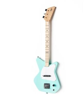 Loog Pro 3-String Electric Guitar Green