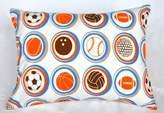 Bacati Modern Sports Decorative Pillow