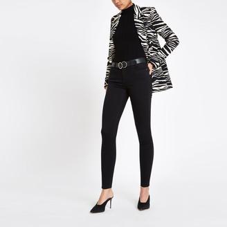 River Island Womens Black Amelie super skinny jeans