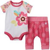 Boppy Baby Girl Flower Bodysuit & Pants Set