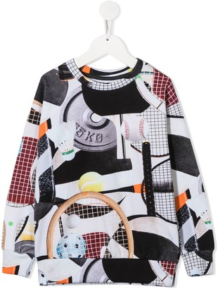 Molo Mik Sports Gear print sweatshirt