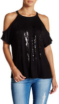 Hip Arrows Cold Shoulder Tee