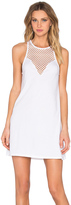 Bobi Pima Cotton Sweetheart Mini Dress