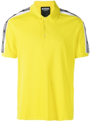 Versus Taped Polo Shirt