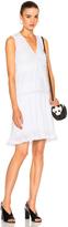 Carven Pleated Mini Dress