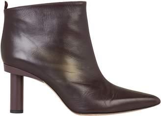 Tibi Theo Leather Booties