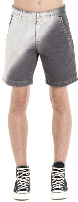 Diesel Red Tag Two-Tone Shorts