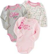 Calvin Klein Baby 3 Packs Bodysuit