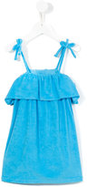Ralph Lauren velour dress - kids - Cotton/Polyester - 6 yrs