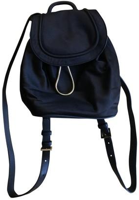 Diane von Furstenberg Black Cloth Backpacks