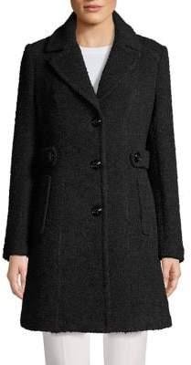 Gallery Petite Wool-Blend Topper Coat