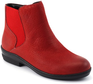 David Tate Leather Ankle Booties - Torrey
