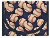 ReSnackit Reusable Sandwich + Snack Bag, Baseball