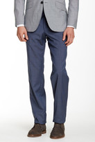 Ted Baker Houndstooth Jarrett Regular Fit Wool Pant