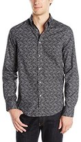 Ben Sherman Men's Long Sleeve Paisley Shirt