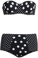 Dolce & Gabbana Polka-dot print balconette bikini
